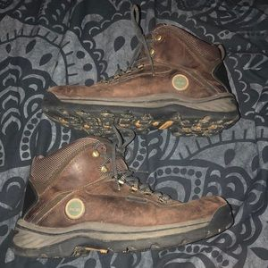 Timberland men's leather boots size 10